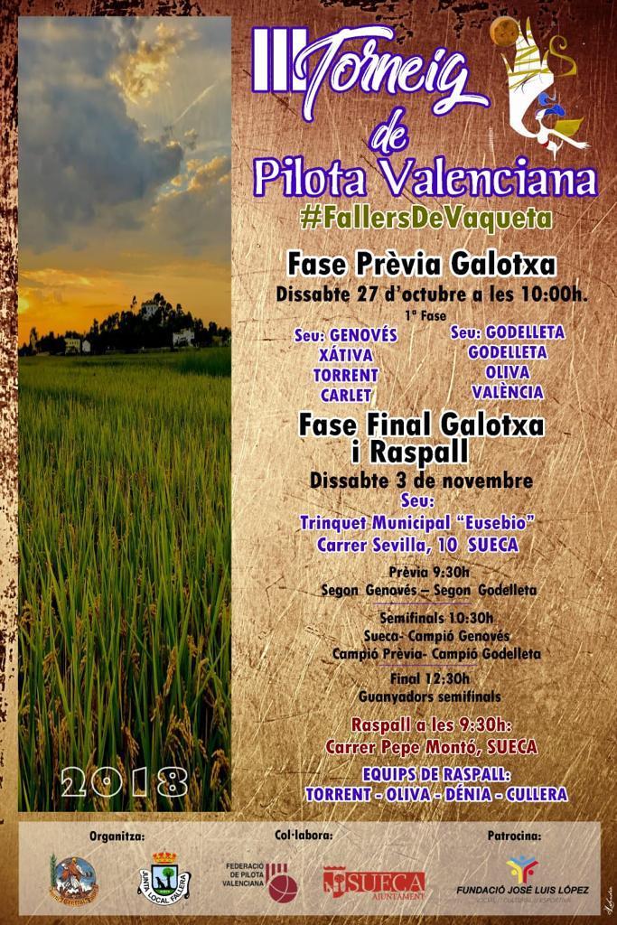 III Torneig de Pilota Valenciana