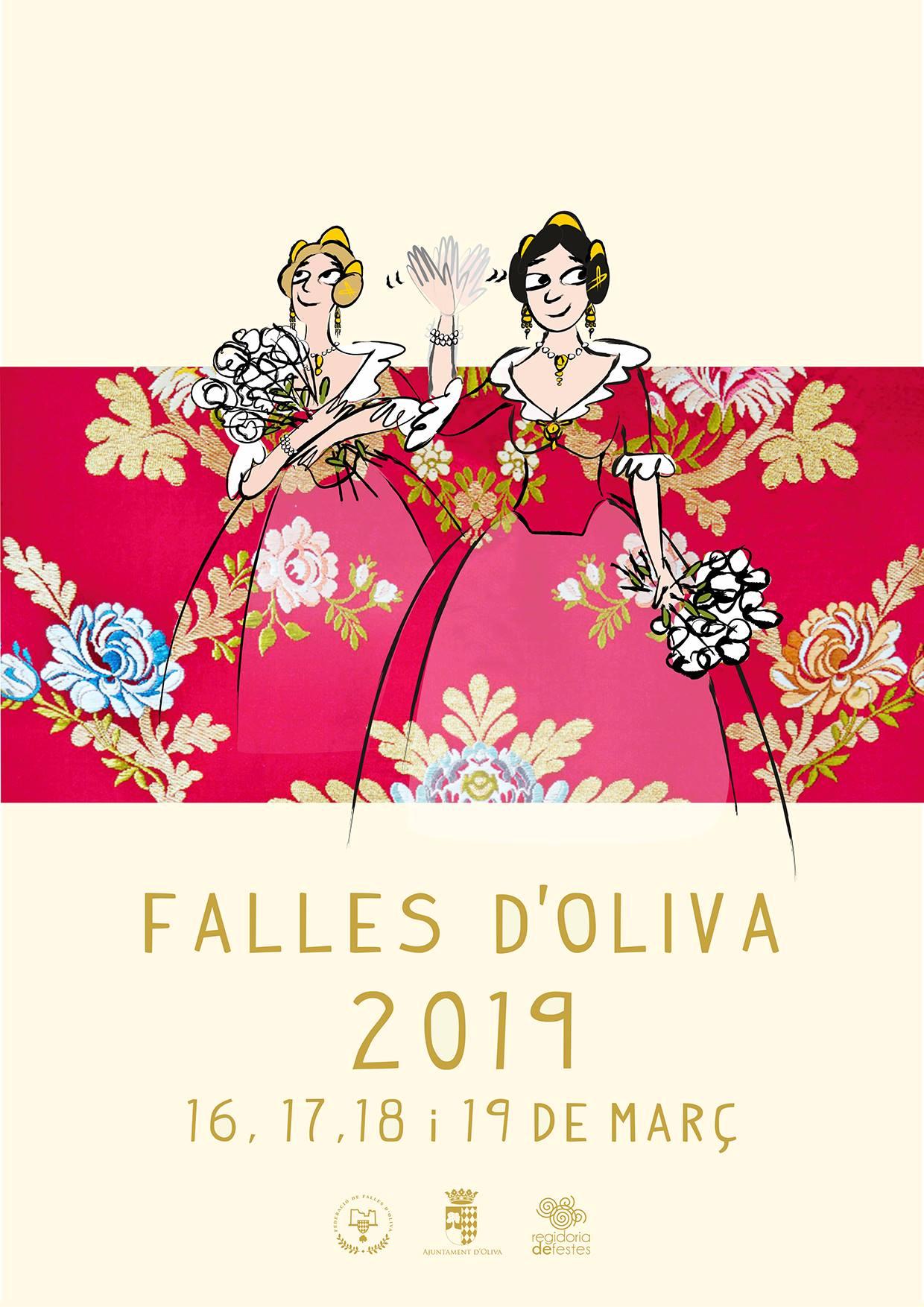 Cartell de Falles Oliva 2019