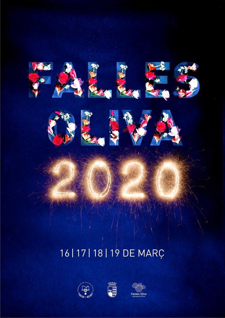 Cartell Falles Oliva 2020